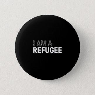Refugee T-shirt, women's 6 Cm Round Badge