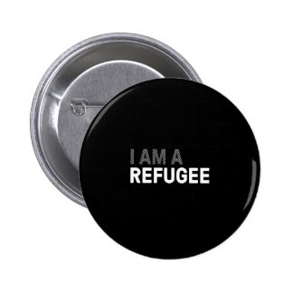Refugee T-shirt, women's 6 Cm Round Badge