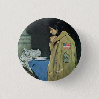 Refugee Thanksgiving 3 Cm Round Badge