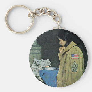 Refugee Thanksgiving Key Ring