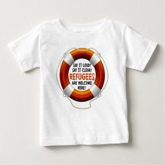 Refugees Welcome Baby Jersey T-Shirt