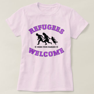 Refugees Welcome Bring Your Families Shirt