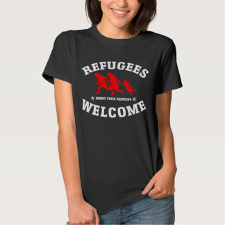 Refugees Welcome Bring Your Family Tshirts