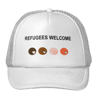 Refugees Welcome Cap