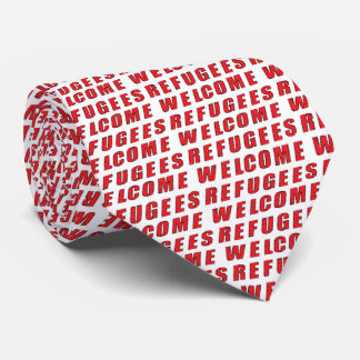 Refugees Welcome Tie