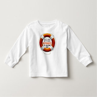 Refugees Welcome Toddler Long Sleeve T-Shirt