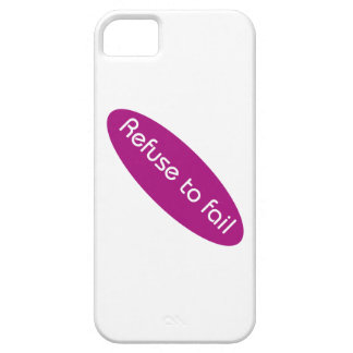 Refuse to Fail iPhone 5 Cover