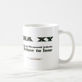 Refuse to Lose rheumatoid arthritis mug