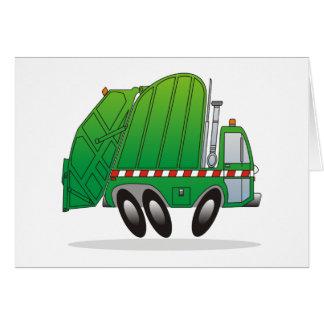 Refuse Truck Card