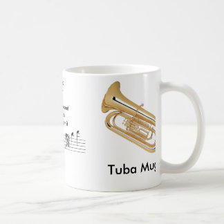 Reg. (11 oz.) Tuba Mug for the Musician!