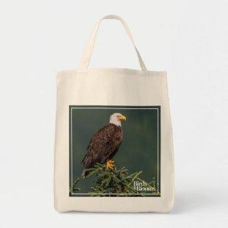 Regal Bald Eagle Tote Bag
