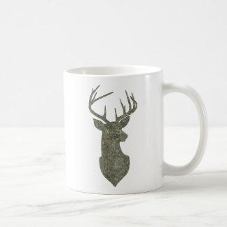 Regal Camouflage Deer Silhouette Buck Trophy Coffee Mug