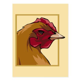 Regal Chicken Post Card