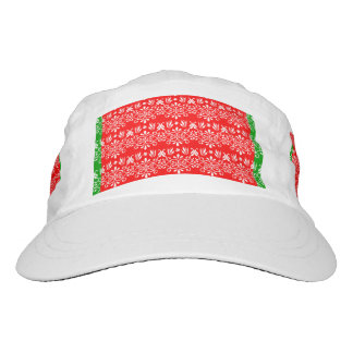 Regal Layered Green & Red Hat