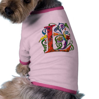 REGAL Letter L Doggie Shirt