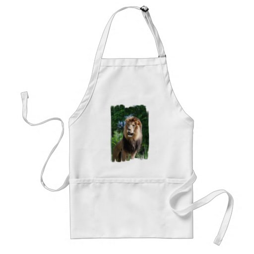 Regal Lion Apron