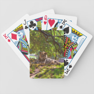 REGAL LION BICYCLE PLAYING CARDS
