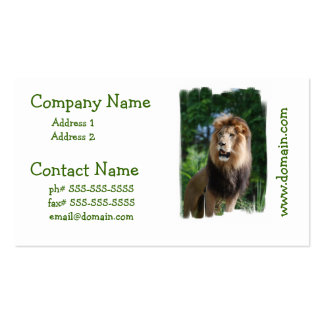 Regal Lion Business Cards