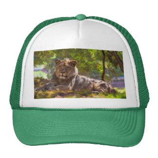 REGAL LION CAP