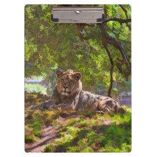 REGAL LION CLIPBOARD