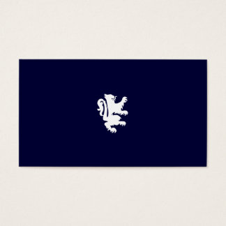 REGAL LION in MIDNIGHT BLUE Business Card