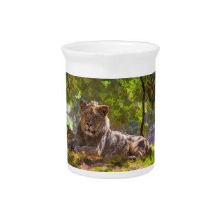 REGAL LION PITCHER