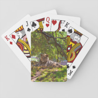 REGAL LION PLAYING CARDS