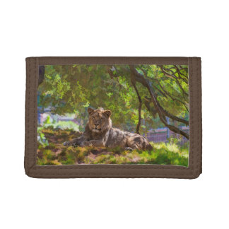 REGAL LION TRI-FOLD WALLETS