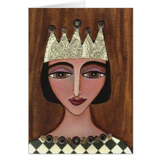 Regal Queen - greeting card (3)