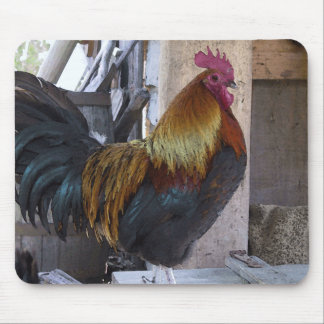 Regal Rooster Mouse Pad