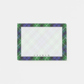 Regal Scottish Clan Graham Tartan Post-it Notes