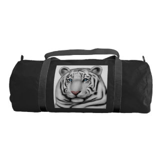 Regal White Bengal Tiger Duffel Bag Gym Duffel Bag