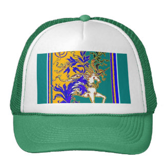 Regal White Unicorn Gifts by Sharles Cap