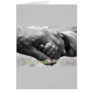 Regalo para abuelo Te quiero abuelo Felicitaciones
