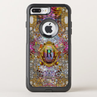 Regardez Cool kaléidoscope VIII  Monogram OtterBox Commuter iPhone 8 Plus/7 Plus Case
