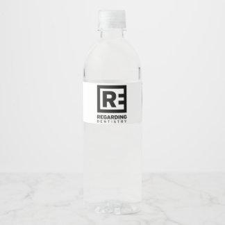 Regarding Dentistry - Chippewa Water Bottle - v2 Water Bottle Label