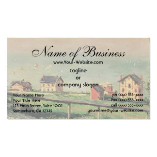 Regatta at Villerville by Gustave Caillebotte Pack Of Standard Business Cards