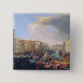 Regatta Held in Honour of Frederick VI of Denmark 15 Cm Square Badge