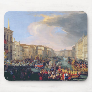 Regatta Held in Honour of Frederick VI of Denmark Mouse Mat