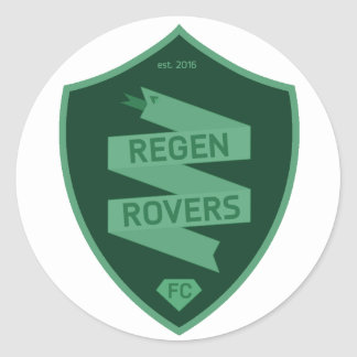 Regen Rovers stickers