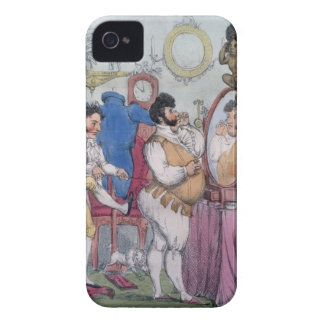 Regency a la Mode, 1812 (coloured etching) iPhone 4 Case-Mate Cases