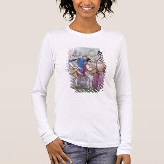 Regency a la Mode, 1812 (coloured etching) Long Sleeve T-Shirt
