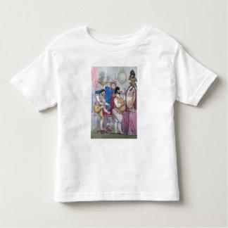 Regency a la Mode, 1812 (coloured etching) Toddler T-Shirt