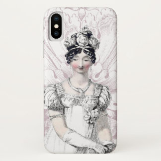 Regency Bride Jane Austen iPhone X Case