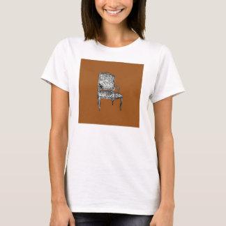 Regency chair in brown T-Shirt