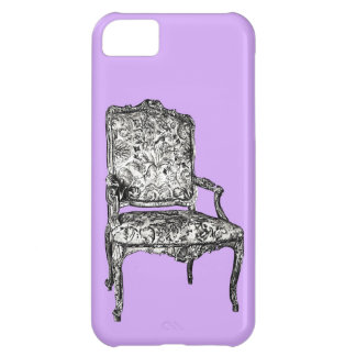 Regency chair in lavender case for iPhone 5C