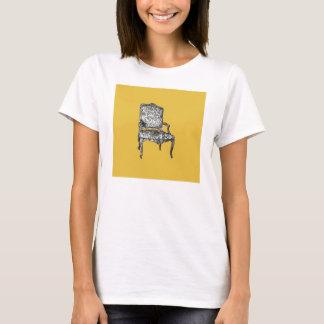 Regency chair in mustard yellow T-Shirt