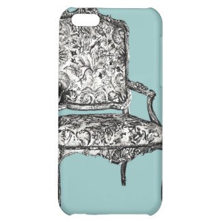 Regency chair in turquoise iPhone 5C covers