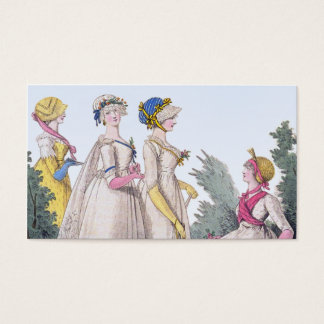 Regency Fashion Custom Personal Calling Cards