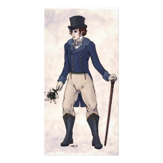Regency Fashion - Gent 1 - Photocard w Envelope Photo Greeting Card